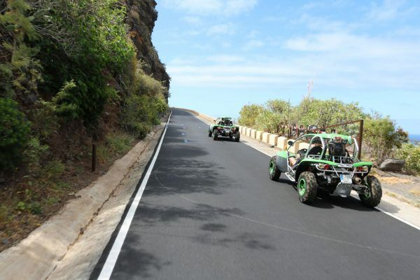 Buggy Experience Land Sport Tenerife. Cheap Excursions. Speed & fun