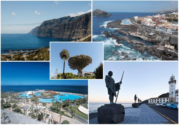 Tenerife excursion around the island