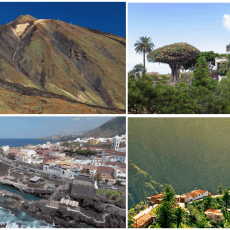 Excursion en Tenerife Bus a Teide, Icod, Garachico, Masca